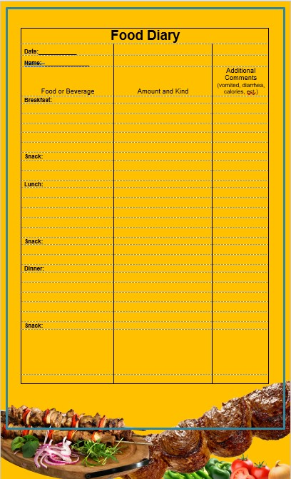 Besic Dairy Journal Template