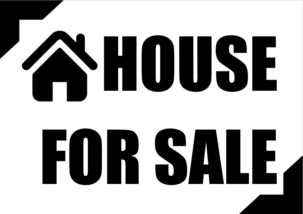 House For Sale Signs Template