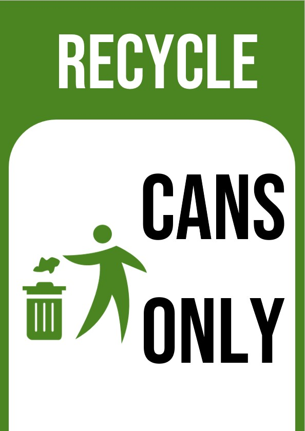 printable Recycle signs