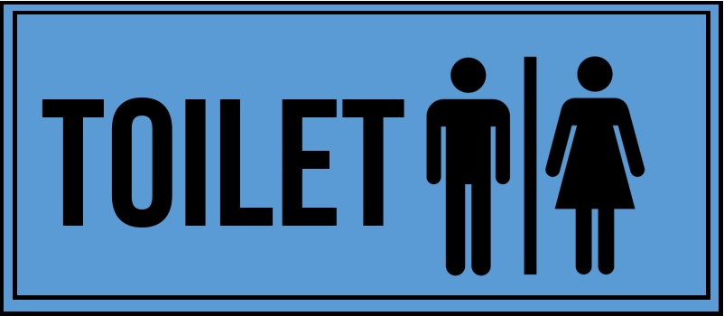 toilet signs template