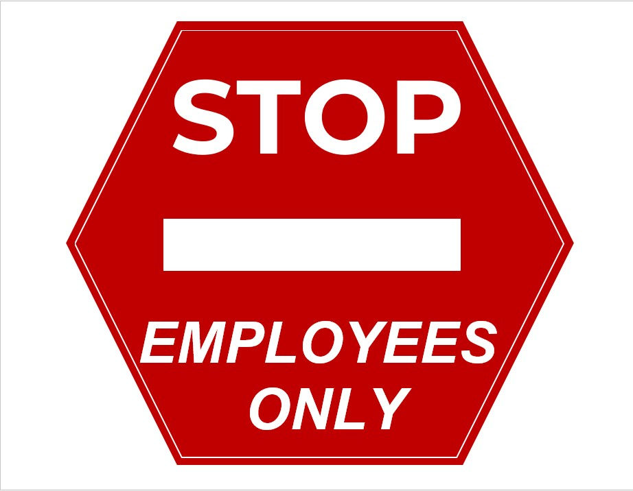 Printable Employees Only Sign In