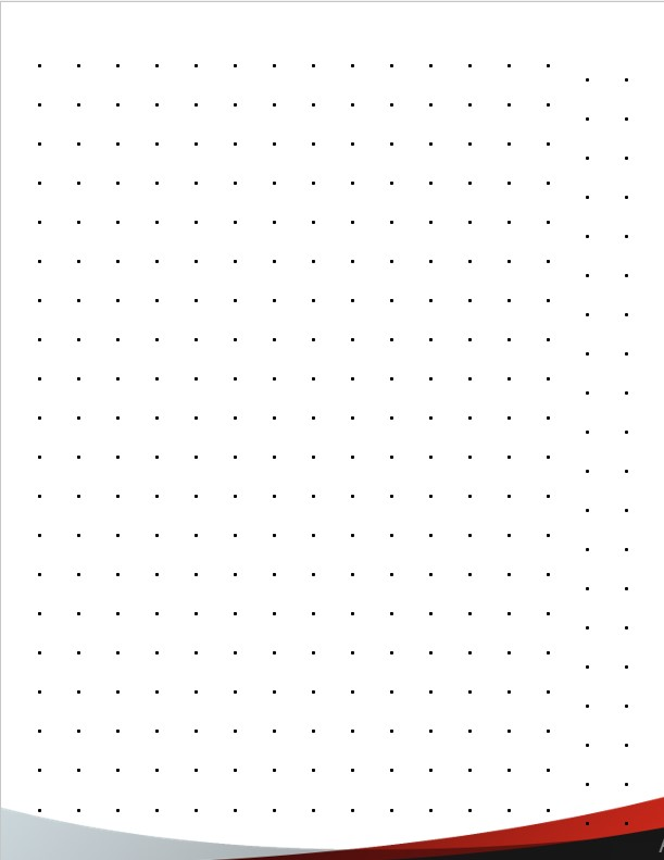 tamplate dot grid paper