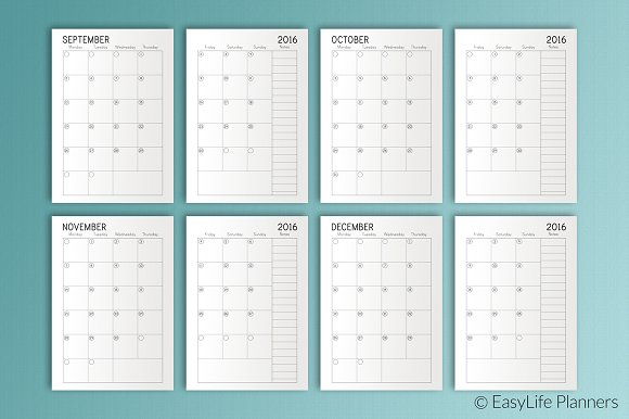 photo about A5 Planner Printable known as A5 Planner Printable area