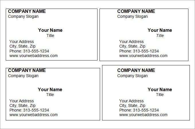 free editable printable business card templates printable business