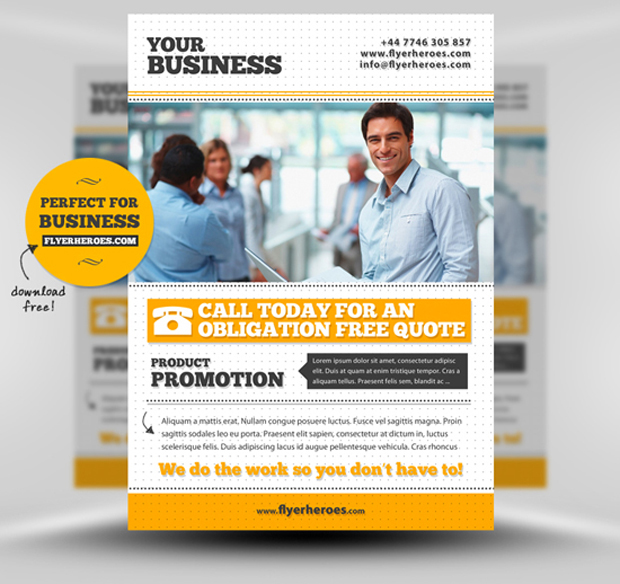 Business Flyer Templates Free Printable New Business Flyer Free