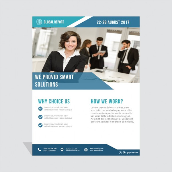 business solutions flyer template business flyer templates free