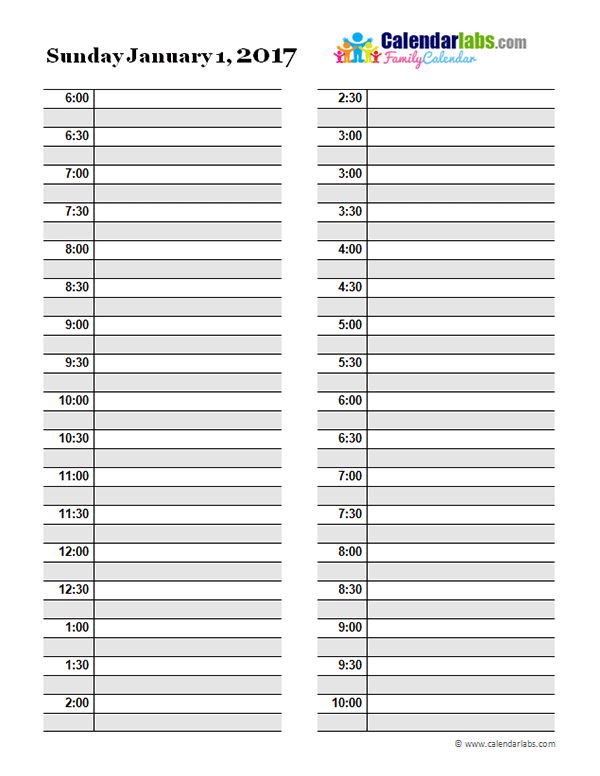 printable daily planner pages   zrom.tk