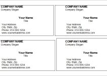 free business cards printable blank business card