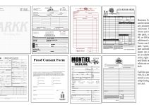 free business forms printable form templates free business forms printable