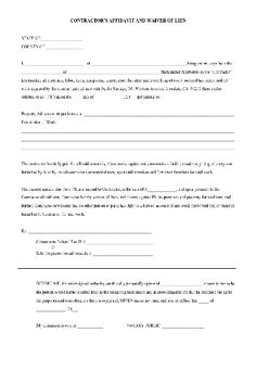 Church Forms Templates
