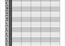 free printable appointment sheets free download daily appointments schedule template pdf format