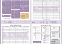 free printable budget sheets queen of free budget forms graphic