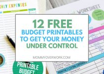 free printable budget worksheets free budget printables featured