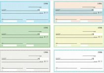 free printable checks template blank check vector pack free download min