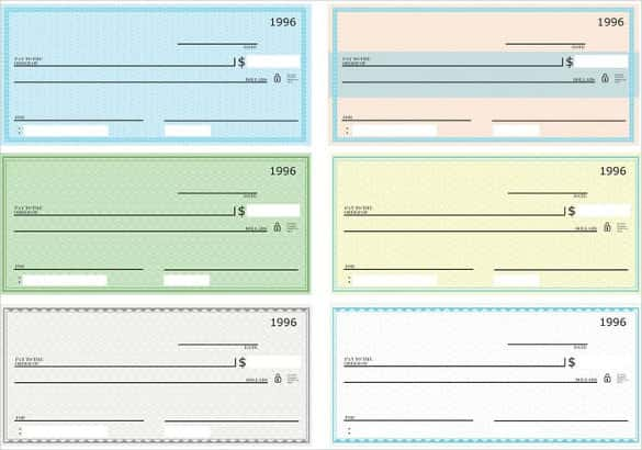 24+ Blank Check Template   DOC, PSD, PDF & Vector Formats   Free