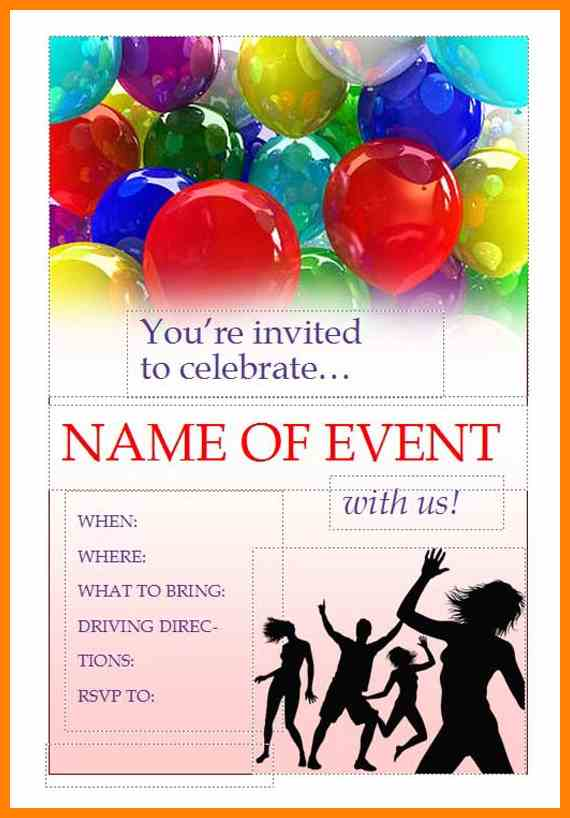 Event Flyer Templates Free Printable   Smartrenotahoe.com