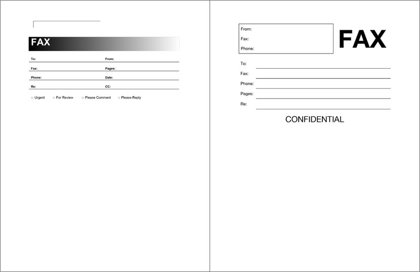 Free Printable Fax Cover Sheet Pdf Room Surf Com border=