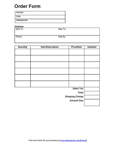Free Printable Research Forms