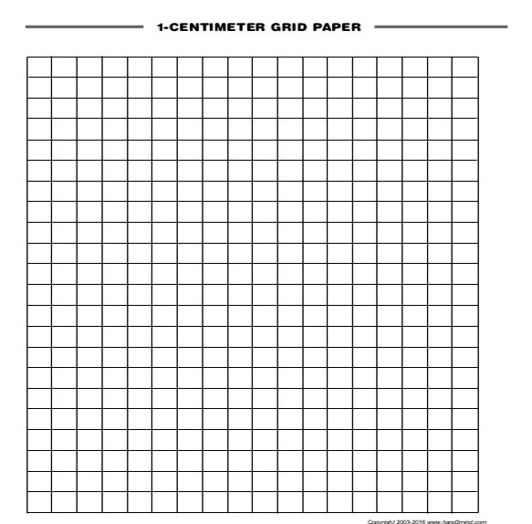 Free Printable Graph Paper | Download and Print Online