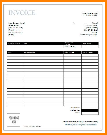 printable invoices free   Yelom.agdiffusion.com