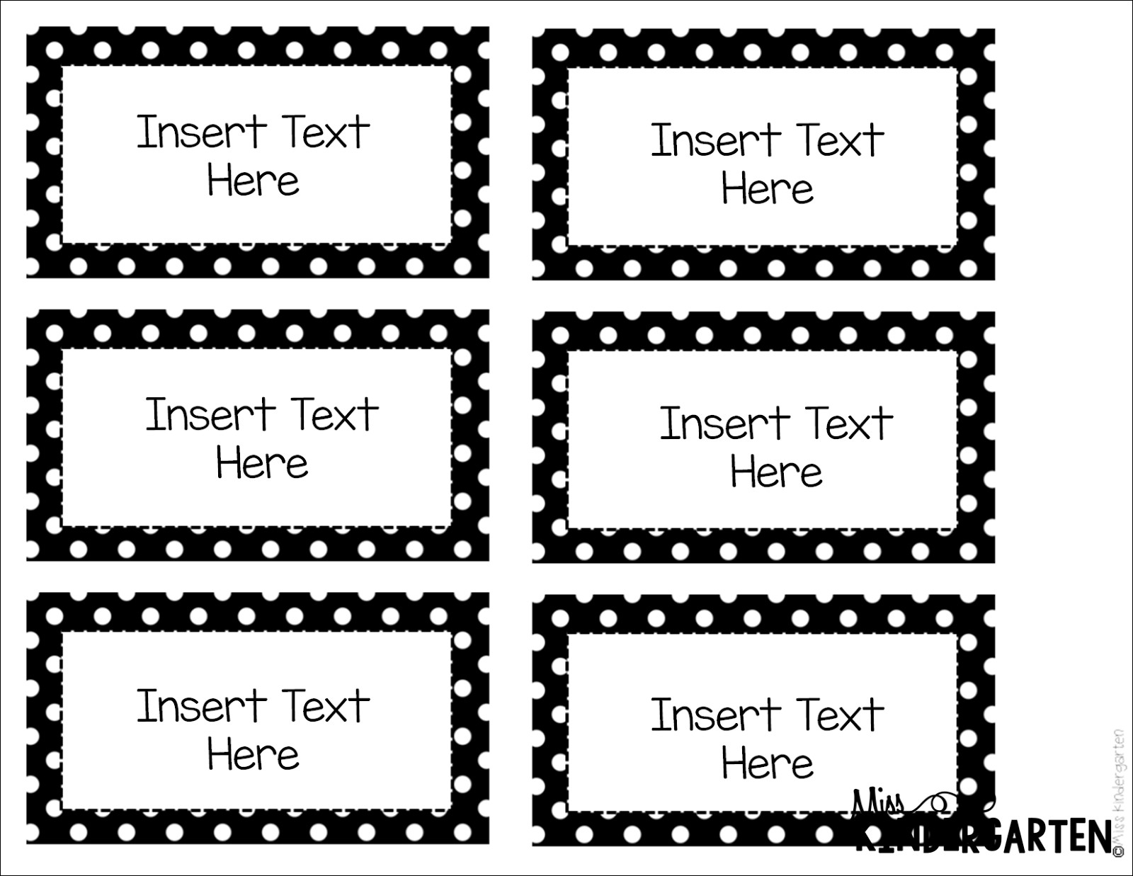 Free Printable Label Templates For Word | bravebtr