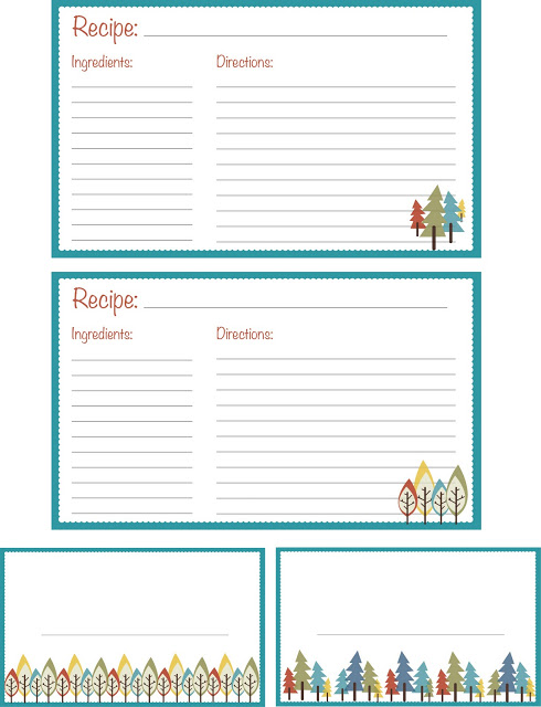 The 47 best recipe card templates images on Pinterest | Printable