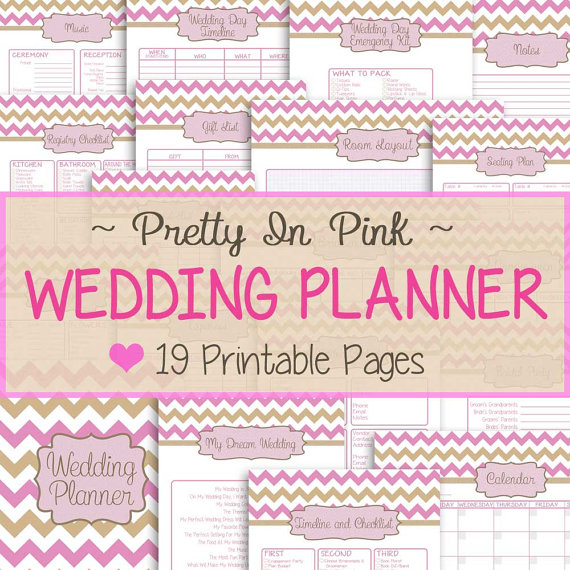 Free Printable Wedding Planner Book 5   reinadela selva