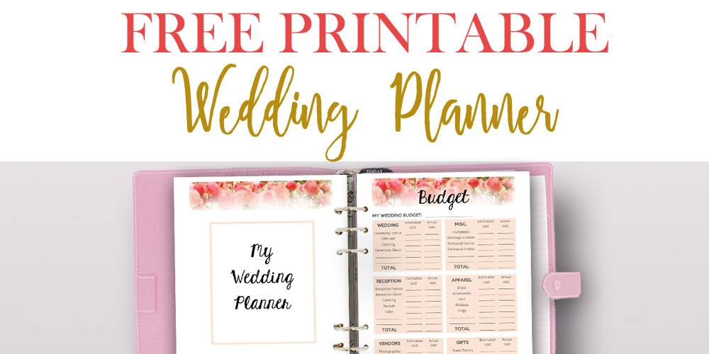 FREE Download! Wedding Planning Worksheets