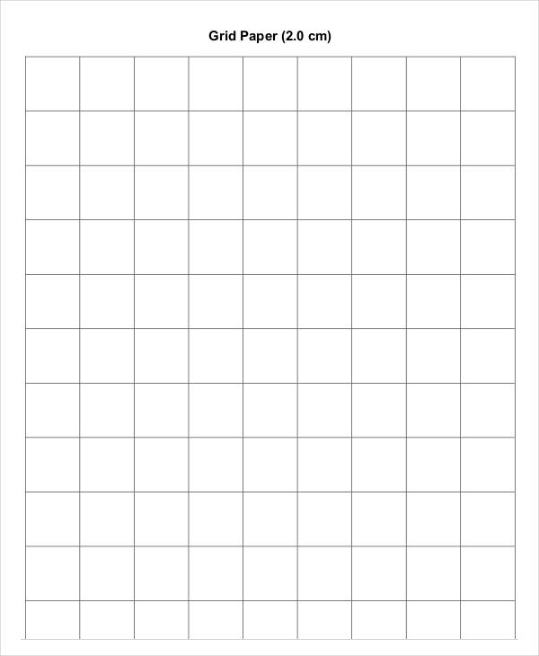 Free Printable Grid Paper | Six styles of quadrille paper.