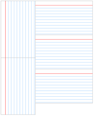 Printable Index Cards Template