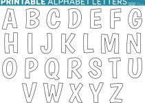 letter templates printable printable letters template printable free alphabet templates ideas
