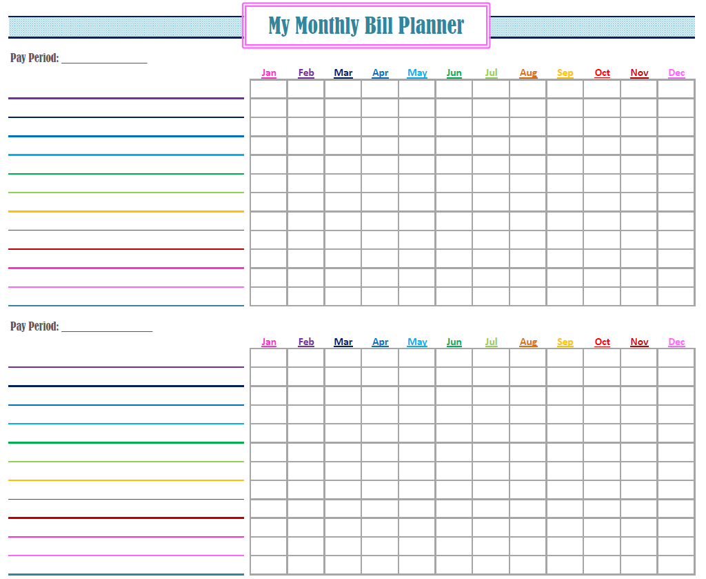 Pin by Jenny Powers on Budget Binder | Pinterest | Budgeting, Bill
