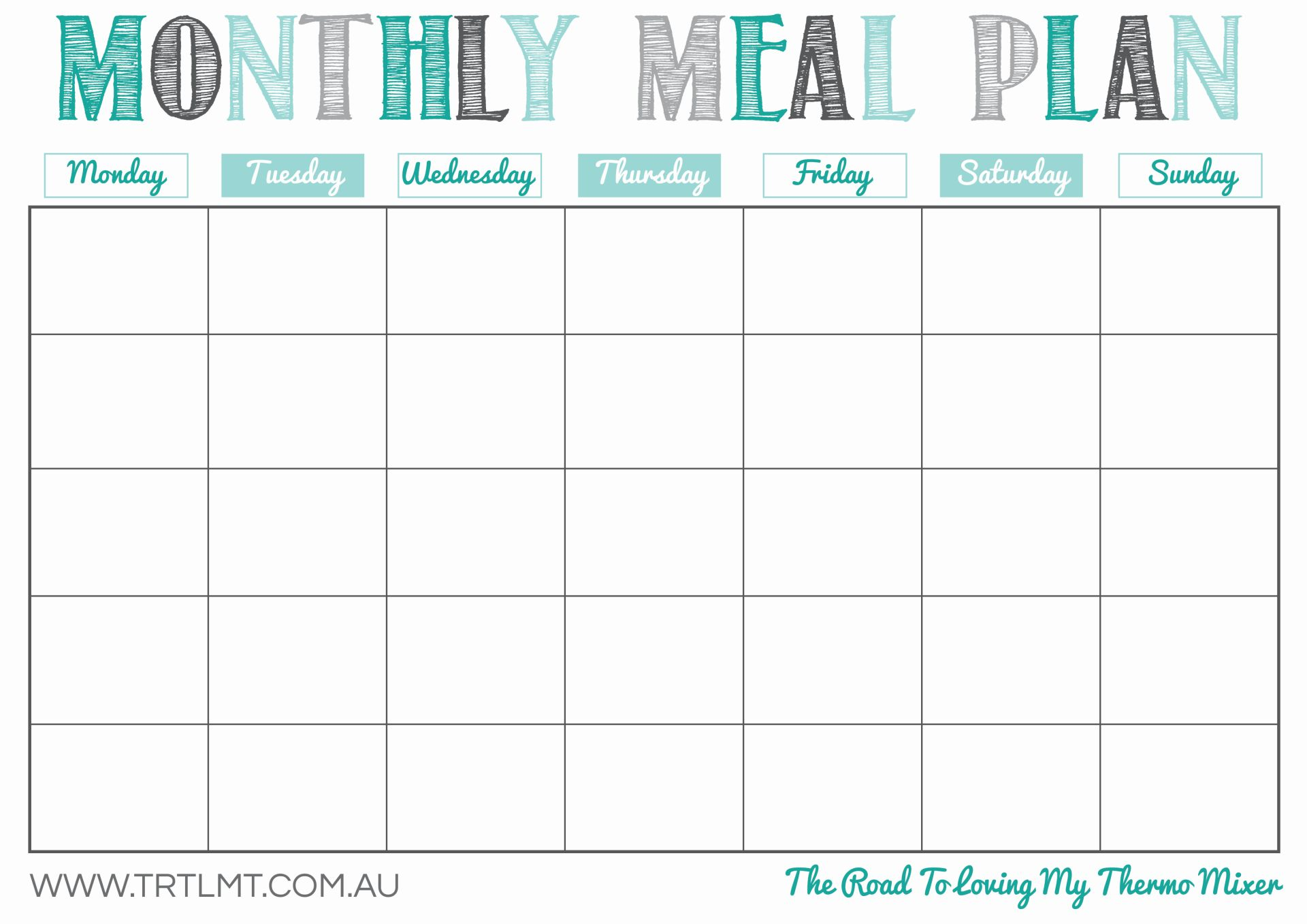 monthly meal calendar   Yelom.agdiffusion.com