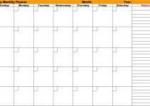 monthly planner printable monthly planners printable planners