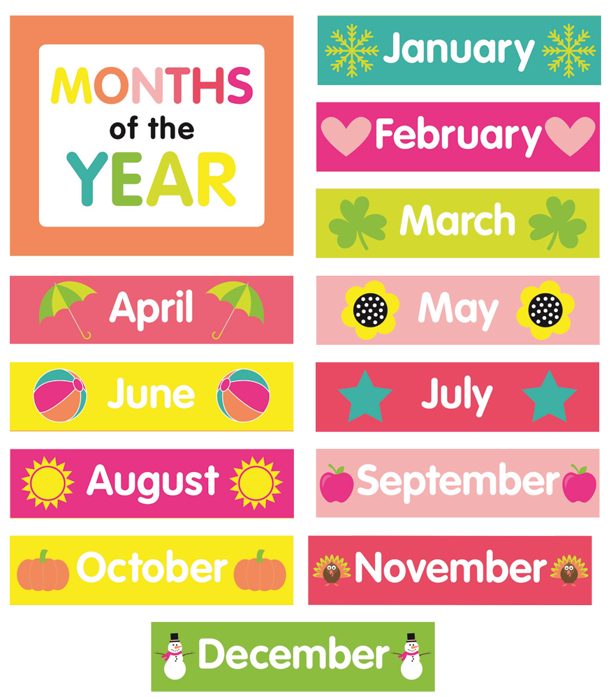 graphic about Printable Months of the Year titled Weeks Of The Yr Printable place