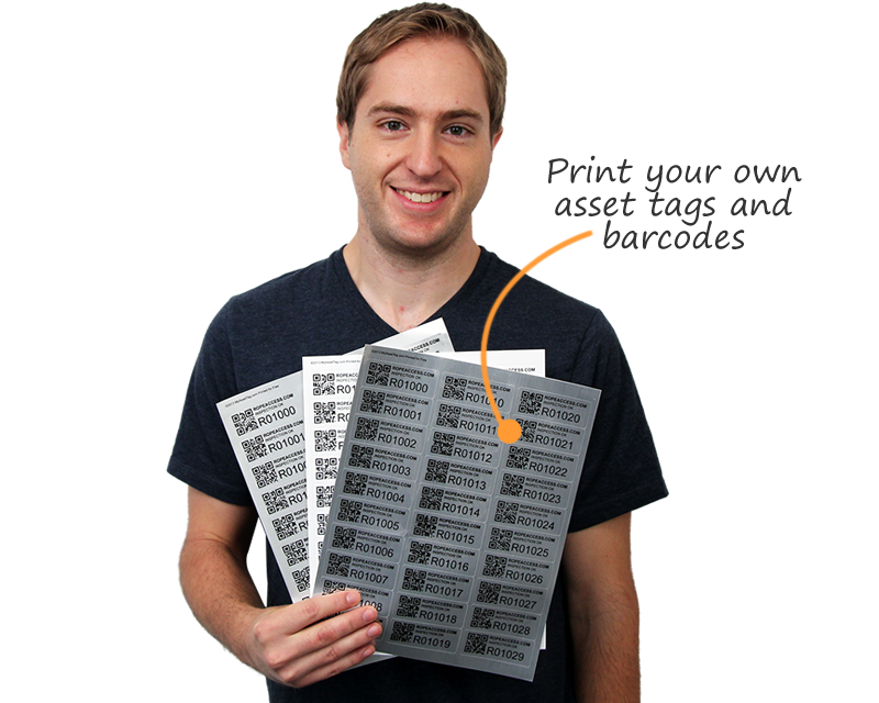 Laser Printable Barcode Label Sheets for Custom Barcode Labels