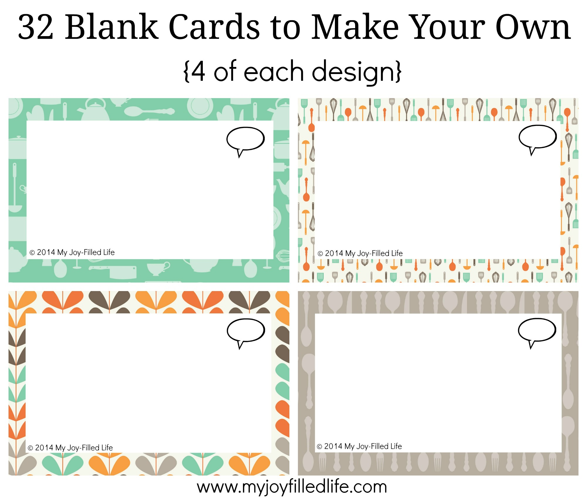 image relating to Printable Blank Cards identified as Printable Blank Playing cards place