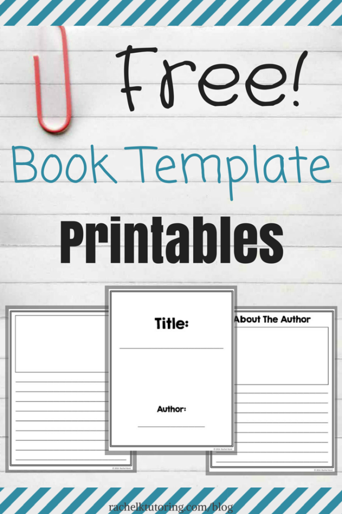 Free Book Template Printables | ThirdGradeTroop.| Pinterest