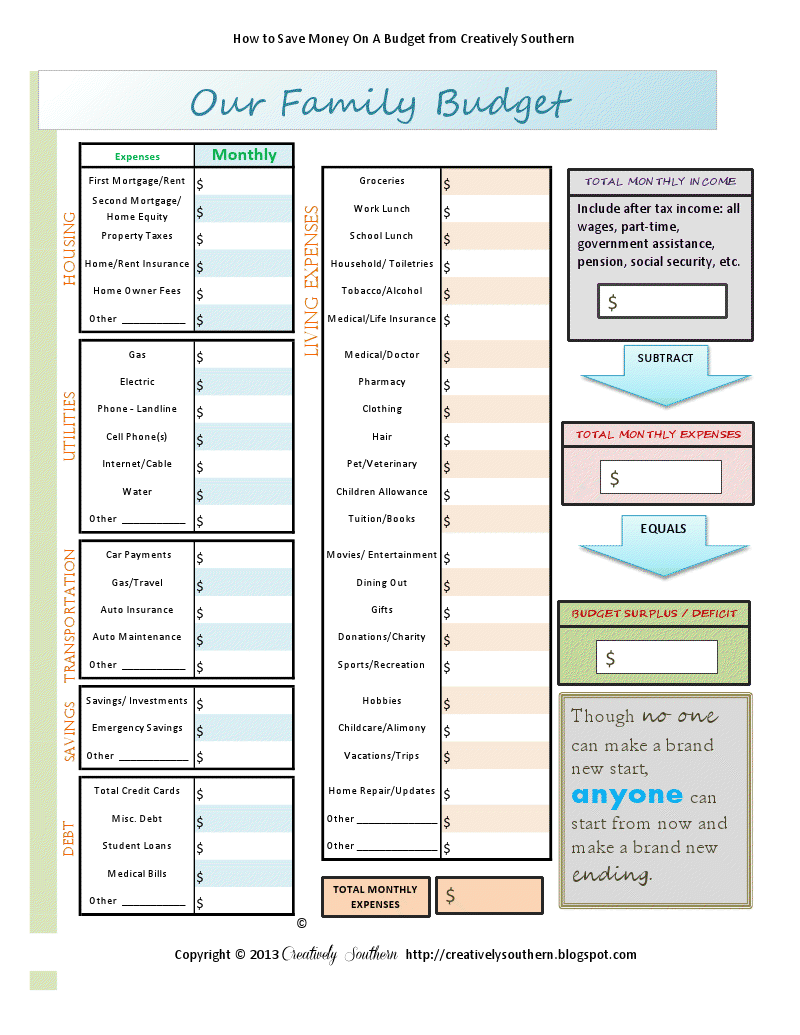 budget worksheet free printable.pdf | Important documents
