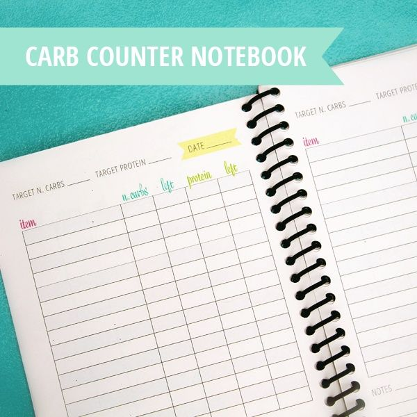Free Print Carb Counter Chart | Free printable carb counter