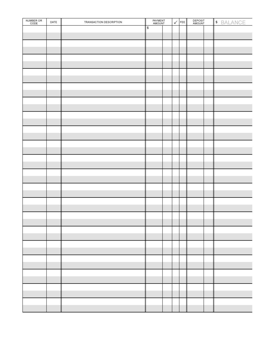 photo regarding Printable Check Template identified as Printable Keep track of Template place