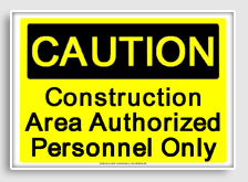 OSHA caution signs freesignage.completely free printable OSHA
