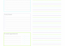 printable day planner pages monday planner or tasklist 300x388