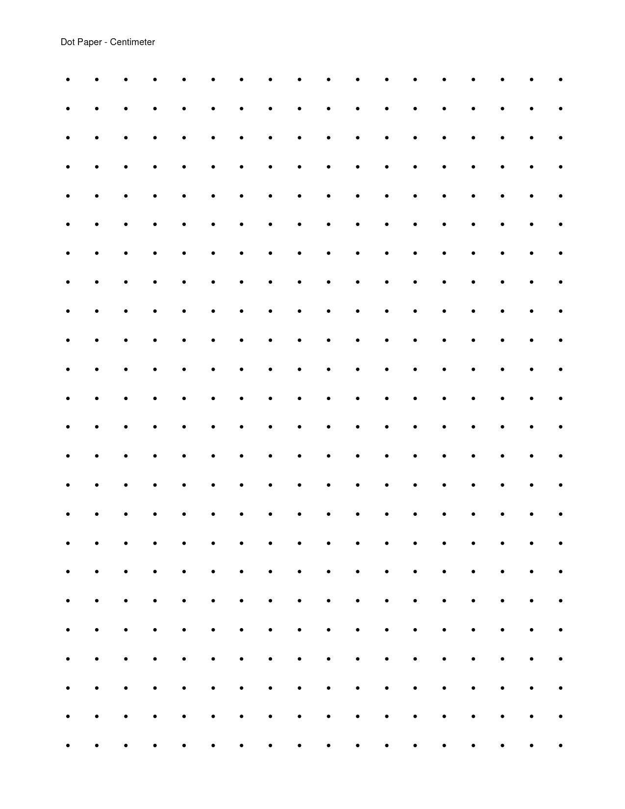 This is an image of Old Fashioned Dot Paper Printable