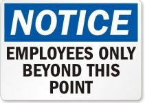 printable employees only sign 41oeo609 kl