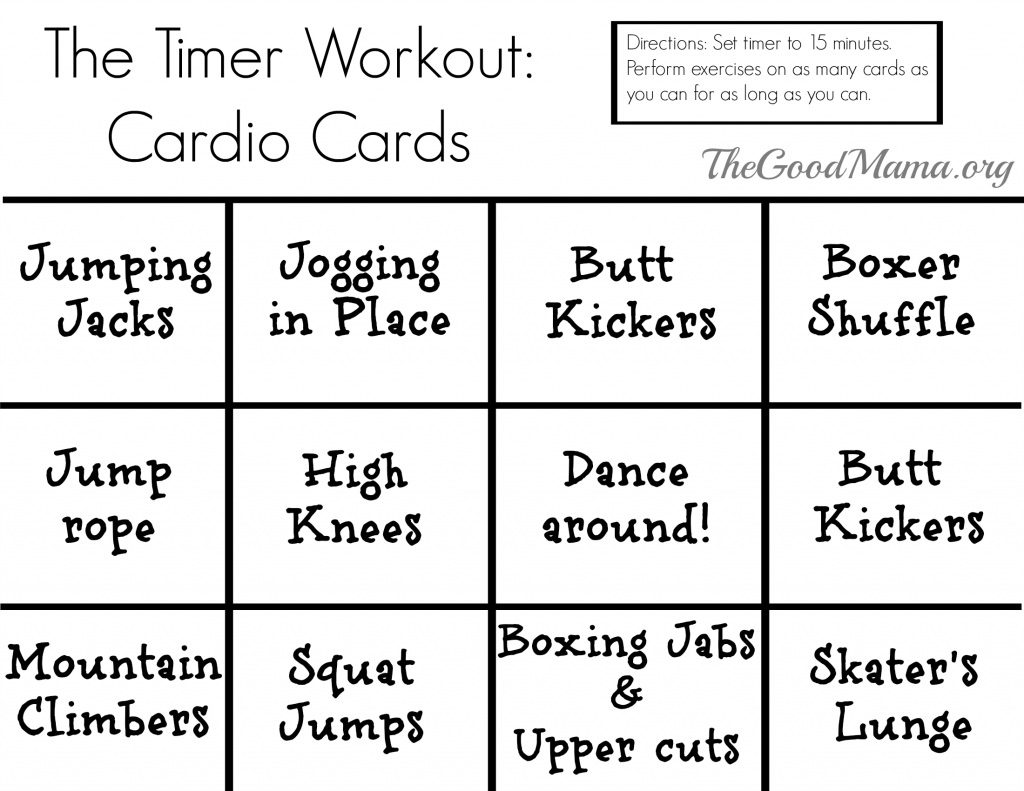 printable exercise cards Yelom.agdiffusion.com
