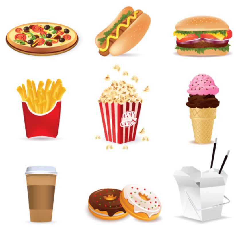 Free Printable Food Clip Art   Clip Art Library