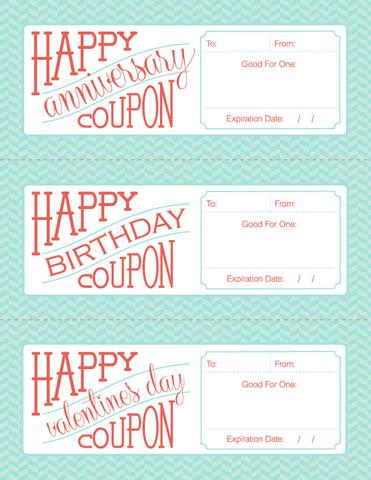 "free downloadable / fillable / printable gift ""coupon"" for a"