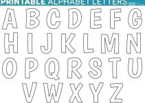 printable letter template free alphabet letter templates letters template free printable free alphabet templates with ideas