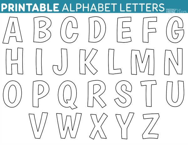 photograph regarding Letter Cut Out Template identify Printable Letter Templates house
